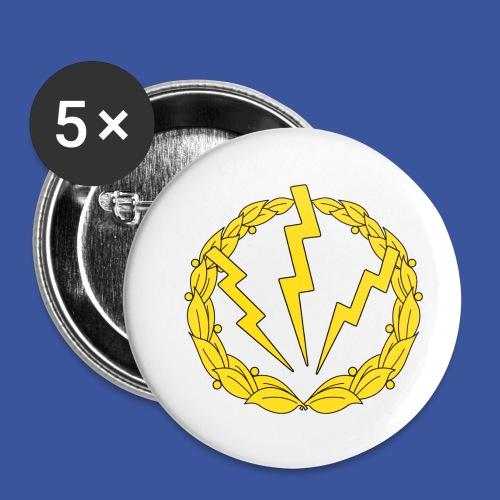 RLC Logo - Små knappar 25 mm (5-pack)