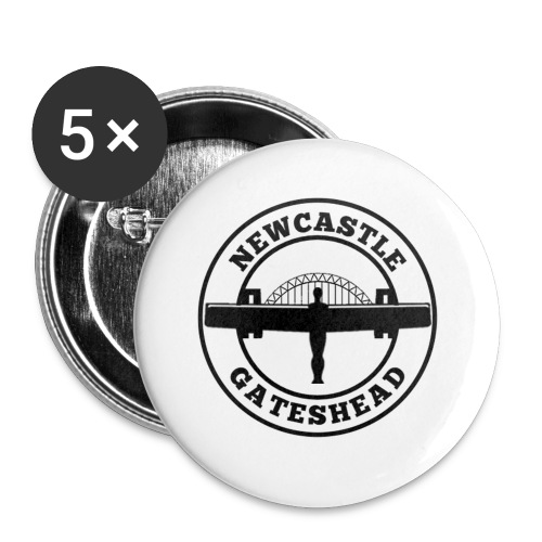 NEW BIGGER LOGO - Buttons small 25 mm