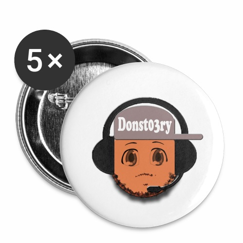 Dons logo - Buttons small 1''/25 mm (5-pack)