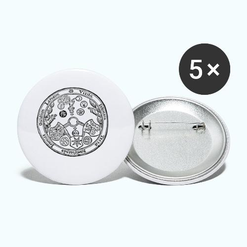 Alchemie - Buttons small 1''/25 mm (5-pack)