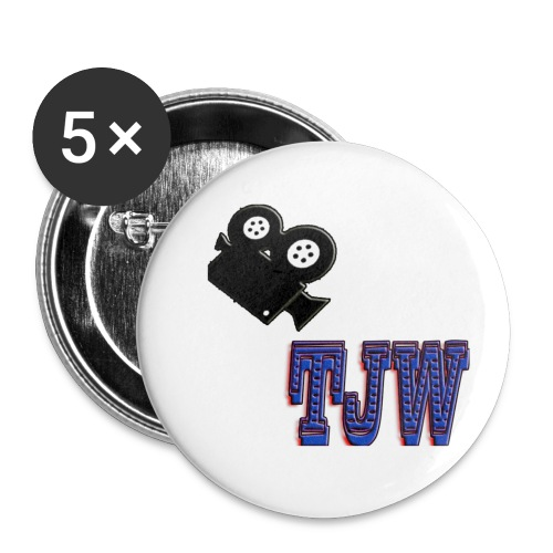 tjw - Buttons small 1''/25 mm (5-pack)