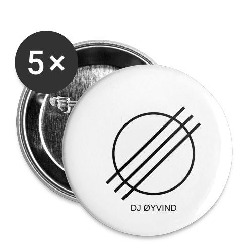 DJ Øyvind Logo (Offisiell) - Liten pin 25 mm (5-er pakke)