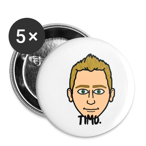 LOGO VAN TIMO. - Buttons klein 25 mm (5-pack)