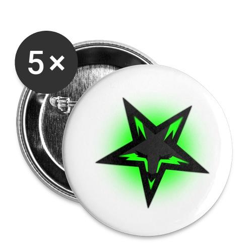 KDutch Logo - Buttons small 1''/25 mm (5-pack)