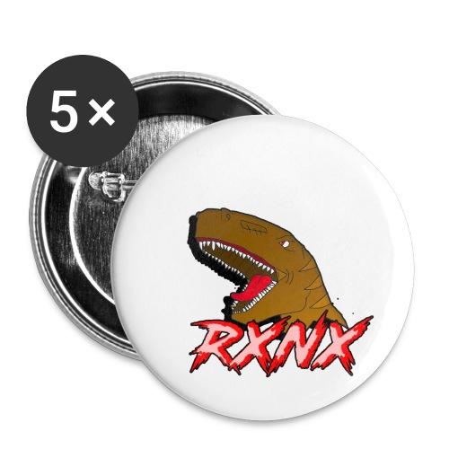 T-SHIRTEX - Confezione da 5 spille piccole (25 mm)