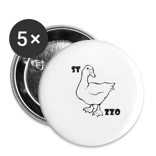 REBUS...STOCAZZO - Confezione da 5 spille piccole (25 mm)
