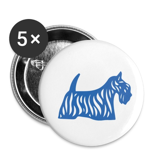 Founded in Scotland logo - Buttons small 25 mm