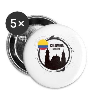 Bogota Kolumbien - Buttons klein 25 mm