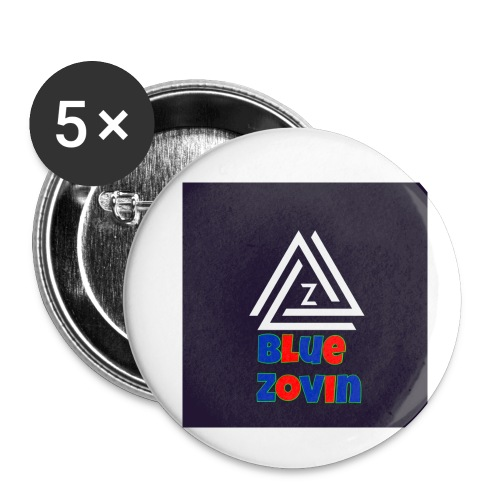 BlueZovinshirt - Buttons small 1''/25 mm (5-pack)