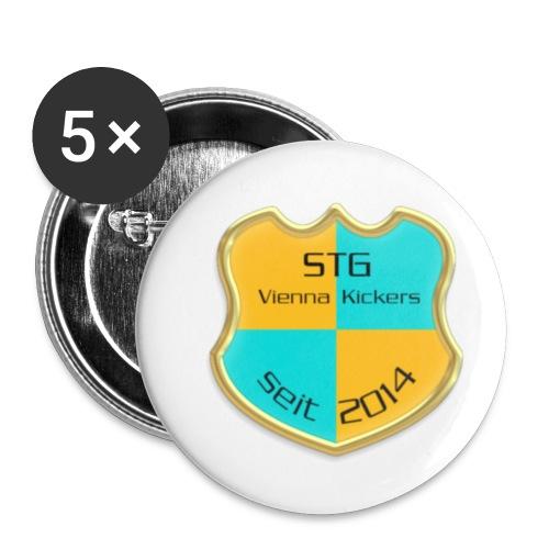 STG Vienna Kickers Logo - Buttons klein 25 mm (5er Pack)