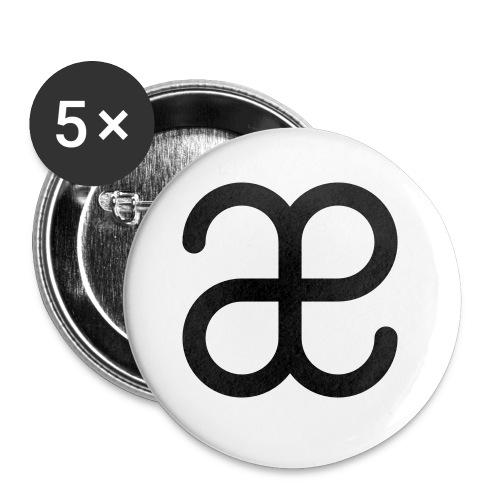 Artesplorando logo - Confezione da 5 spille piccole (25 mm)