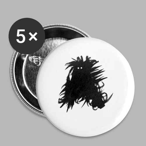 Alan at Attention - Buttons small 1''/25 mm (5-pack)