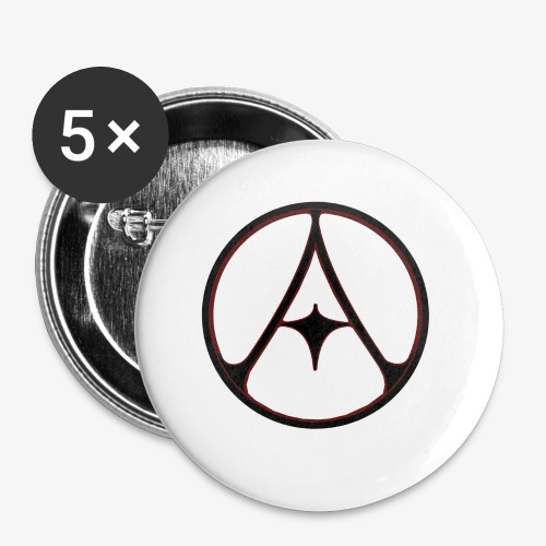 Auldale Logo Acc. - Buttons small 1''/25 mm (5-pack)