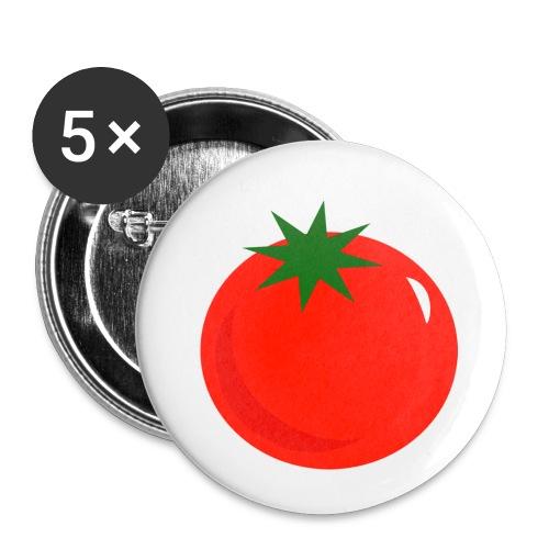 Tomate - Paquete de 5 chapas pequeñas (25 mm)