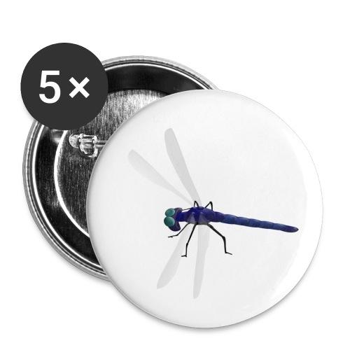 Dragonfly - Paquete de 5 chapas pequeñas (25 mm)