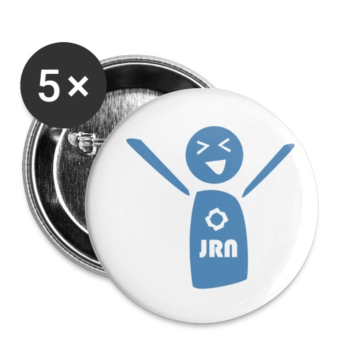 JR Mascot - Buttons small 1''/25 mm (5-pack)