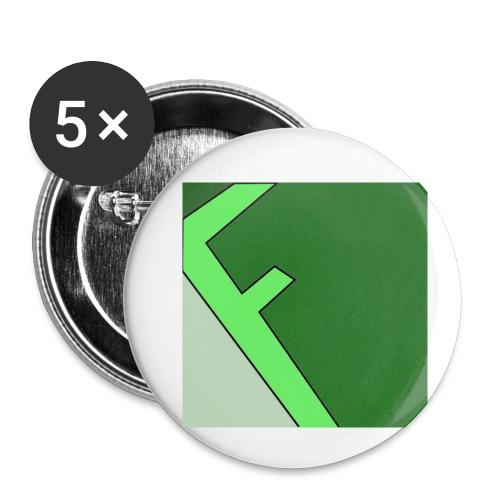 Frager - Små knappar 25 mm (5-pack)