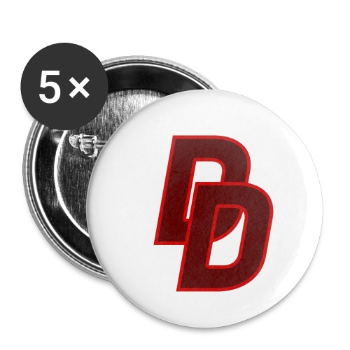 Daredevil Logo - Buttons small 1''/25 mm (5-pack)