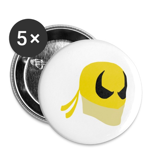 Iron Fist Simplistic - Buttons small 1''/25 mm (5-pack)
