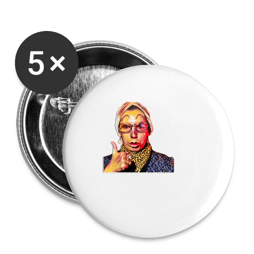 Madam2 - Buttons small 1''/25 mm (5-pack)