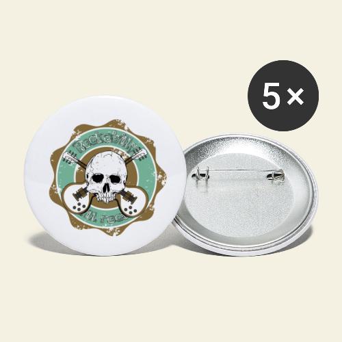 Rockabilly Still Rockin - Buttons/Badges lille, 25 mm (5-pack)