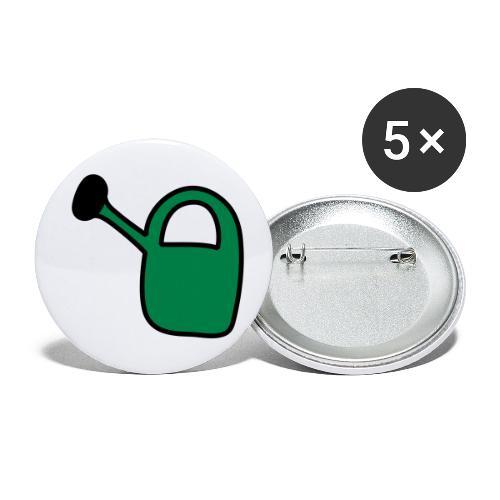 Gieskanne - Buttons klein 25 mm (5er Pack)