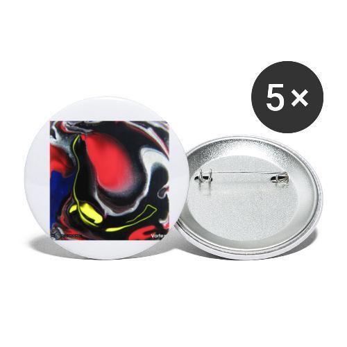 TIAN GREEN Mosaik DK007 - Vortex - Buttons klein 25 mm (5er Pack)