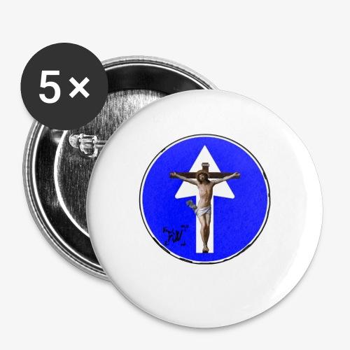 Gesù - Confezione da 5 spille piccole (25 mm)