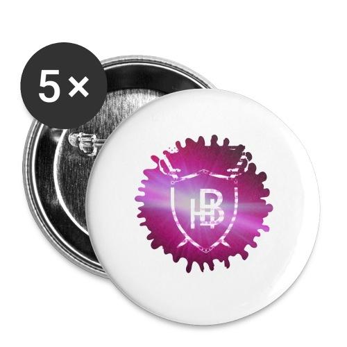 Hustler Brand - Lot de 5 petits badges (25 mm)