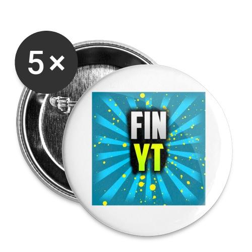 Uusi Youtube Logo - Rintamerkit pienet 25 mm (5kpl pakkauksessa)