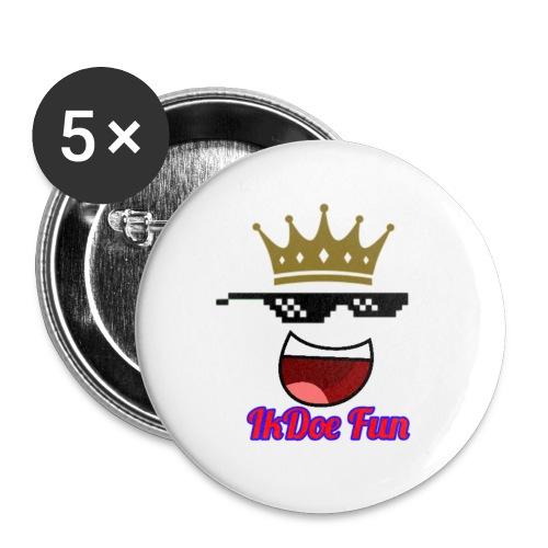 IkDoe Fun - Buttons klein 25 mm (5-pack)