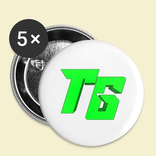 TristanGames logo merchandise - Buttons klein 25 mm (5-pack)