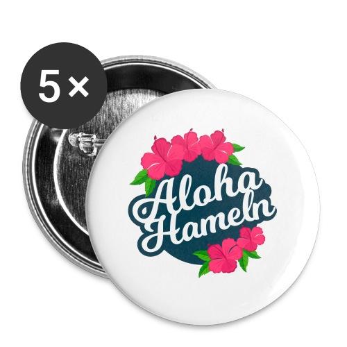 Aloha Hameln | Hawaii SunShine | - Buttons klein 25 mm (5er Pack)