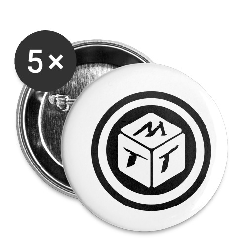 mb logo klein - Buttons klein 25 mm (5er Pack)
