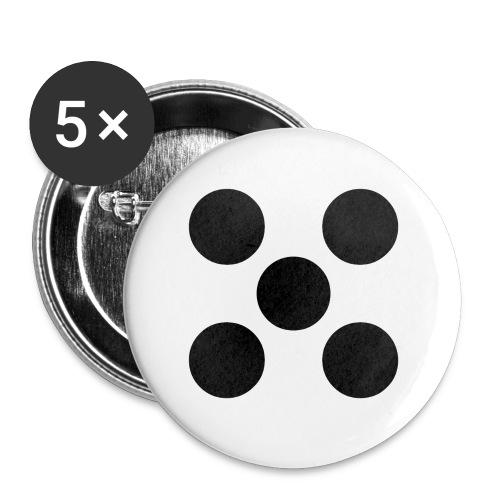 Dado - Paquete de 5 chapas pequeñas (25 mm)