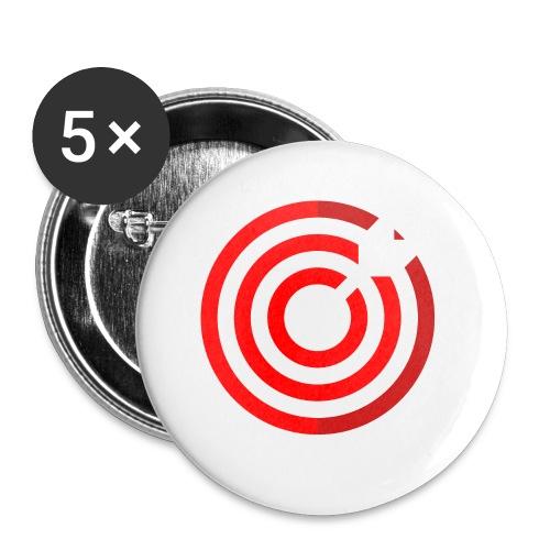 dartboard - Buttons klein 25 mm (5er Pack)