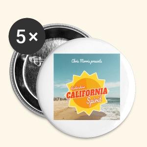 California Spirit Store - Badge petit 25 mm