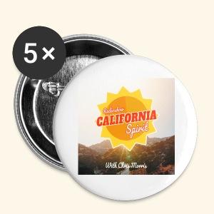 California Spirit Radioshow LA - Badge petit 25 mm