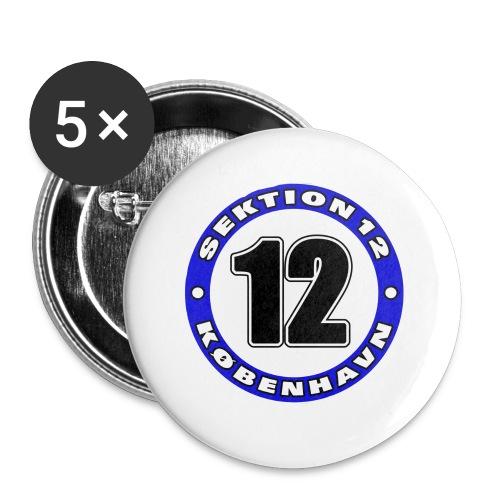 Udklip - Buttons/Badges lille, 25 mm (5-pack)