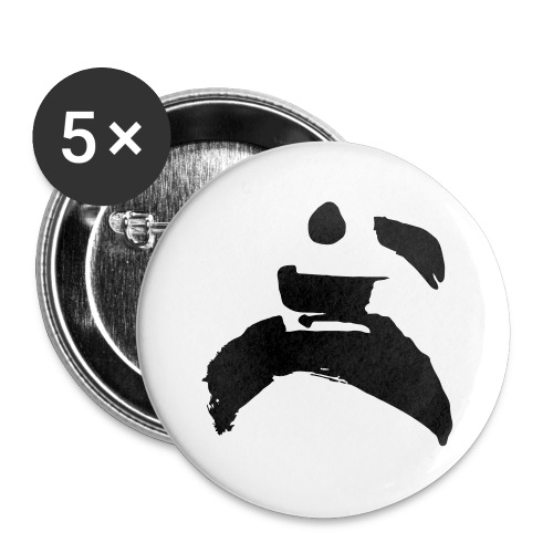 kung fu - Buttons small 1''/25 mm (5-pack)