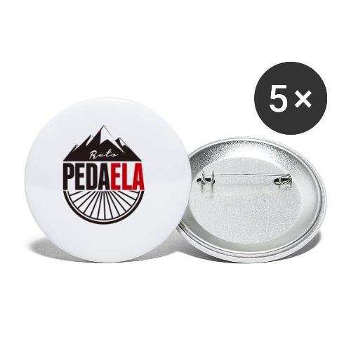 PEDAELA - Paquete de 5 chapas pequeñas (25 mm)
