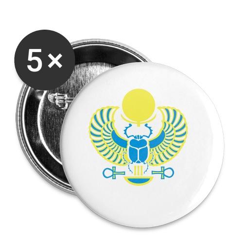 Geflügelter Skarabäus - Buttons klein 25 mm