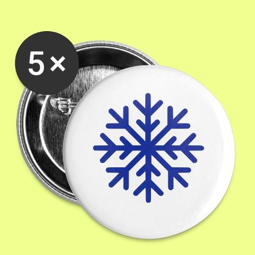 COPO DE NIEVE - Paquete de 5 chapas pequeñas (25 mm)