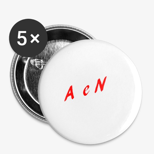 AxelNL - ROOD - Buttons klein 25 mm (5-pack)