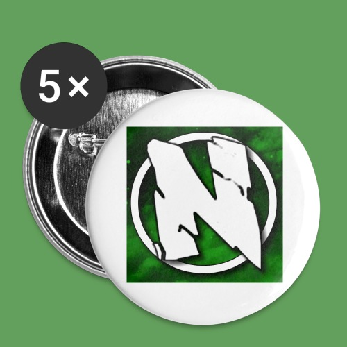 NightcoreUniversity Logo - Små knappar 25 mm (5-pack)