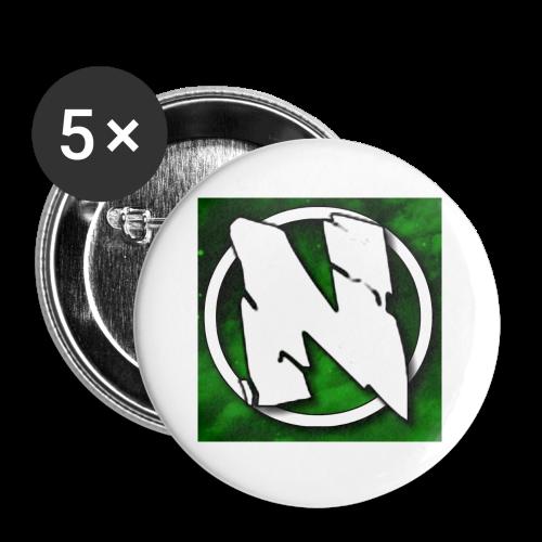 NightcoreUniversity Logo - Små knappar 25 mm (5-pack)