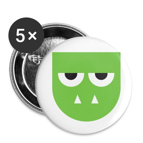 Troldehær - Buttons small 1''/25 mm (5-pack)