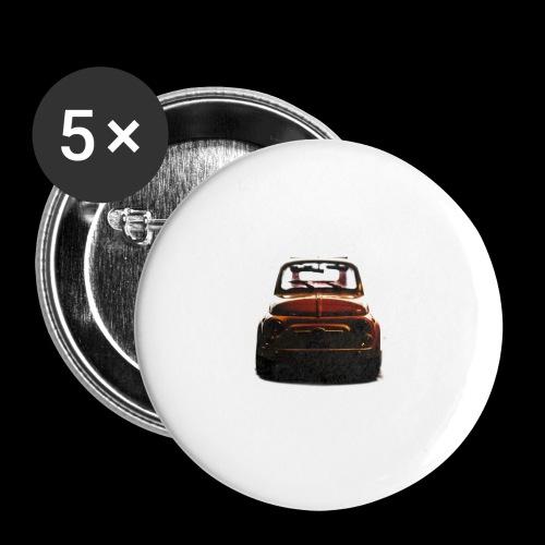 500gold - Confezione da 5 spille piccole (25 mm)