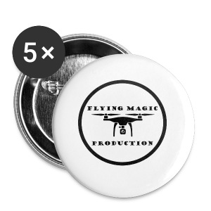 Flying Magic Production - Buttons klein 25 mm