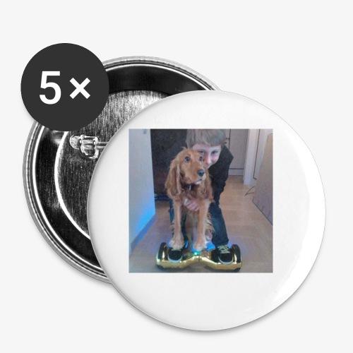 Rune & Heppie accessoires - Buttons klein 25 mm (5-pack)